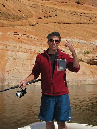 Janson Simpson at Lake Powell