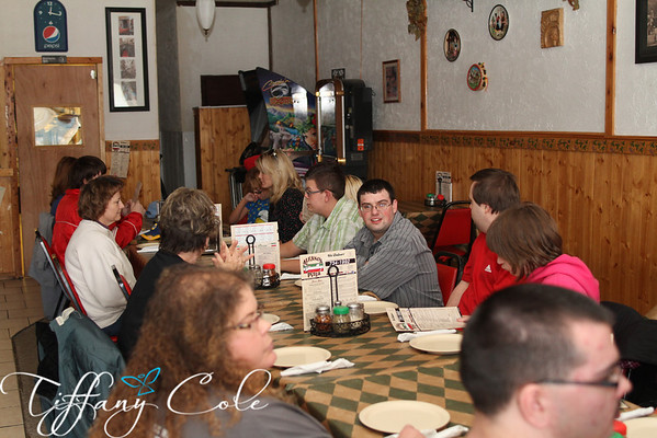 Lunch at Alfano's 11/20/12