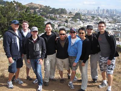 August 2010: San Francisco Urban Stairways Hike