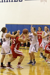 SLC/MASSENA GIRLS BASKETBALL GAMES JV & VARSITY