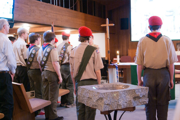 Eric and Andrew Eagle Scouts