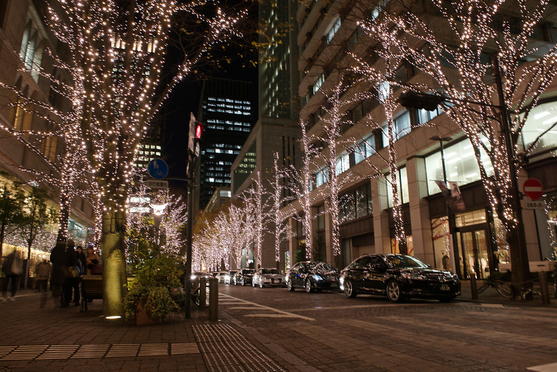 Winter illumination at Marunouchi