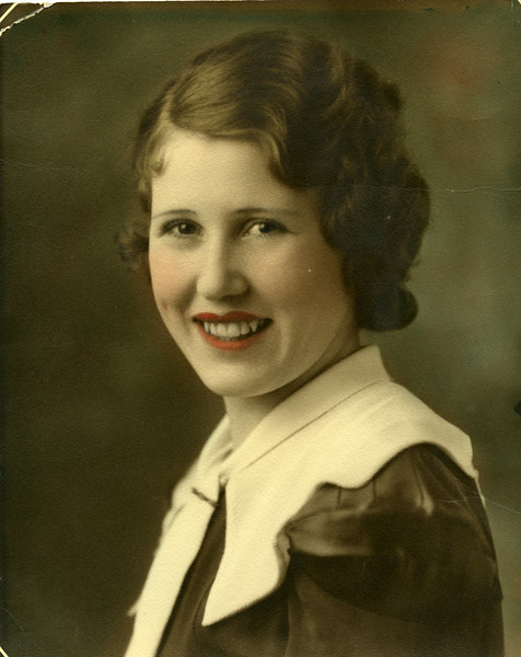 Evelyn Wasson, circa 1930