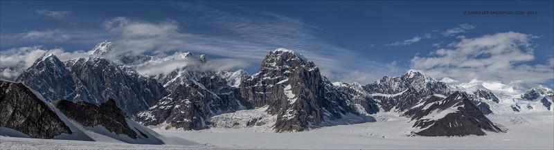 Panorama Ruth Ampitheather - Denali National Park