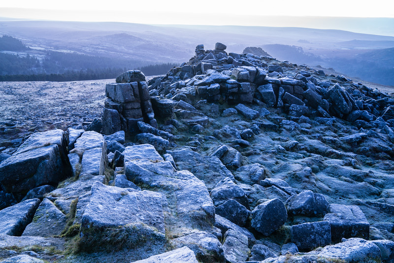 Frosty Dartmoor