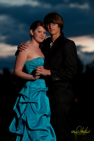 Cassie and Cameron Prom