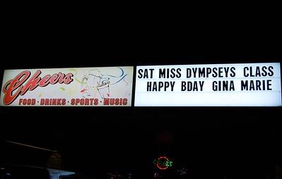 GinaMarie's Birthday @ Cheers