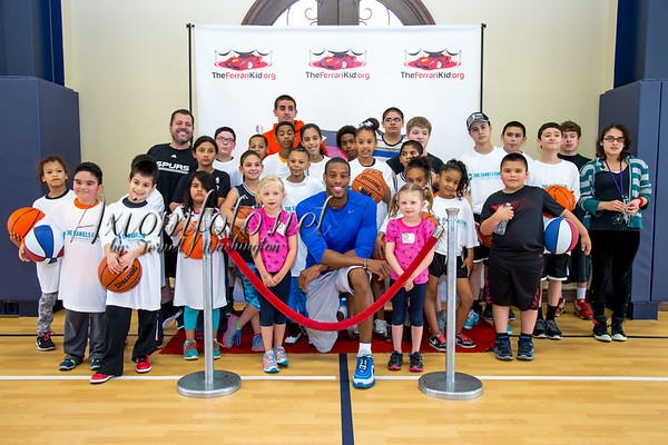 The Daniels Family Foundation and Ferrari Kid Basketball Camp
