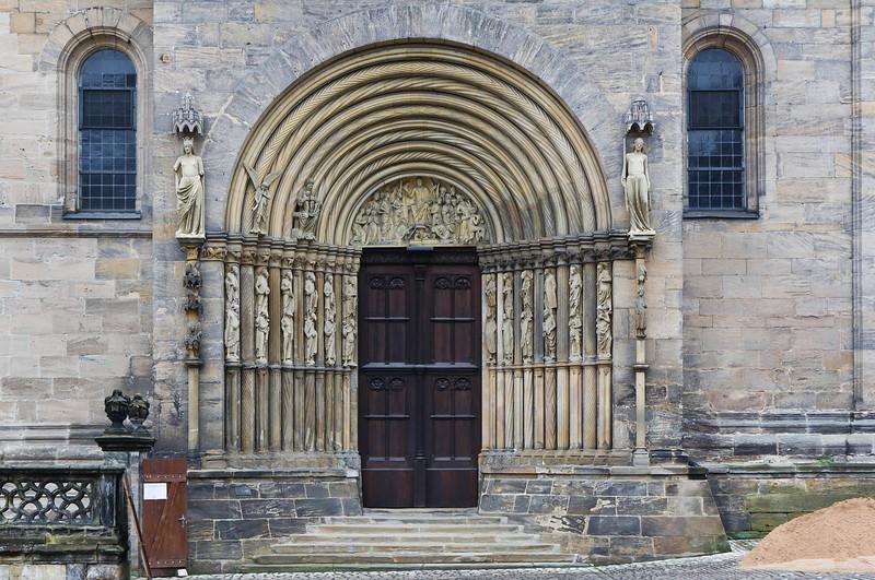 Bamberg. Dom: Fürstenportal
