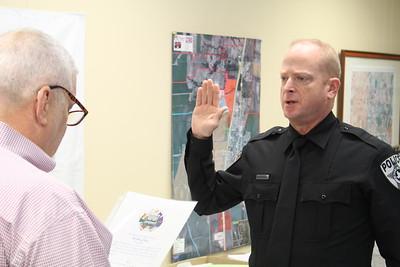 Howe PD welcomes new Officer Jason Jones