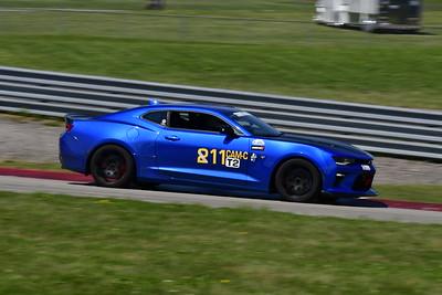 2021 SCCA Pitt Race Aug TT Blu 11 Camaro