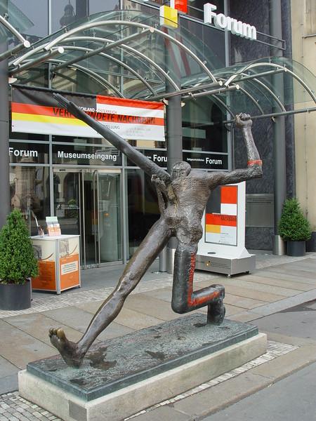 Figure in Leipzig