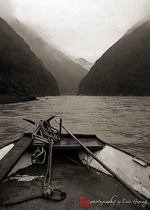 Sailing up the Little Yangtze River