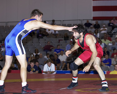 Men's Freestyle Championships 60 Kg, Mike Zadick (Gator WC) def. Zach Roberson (Sunkist Kids)