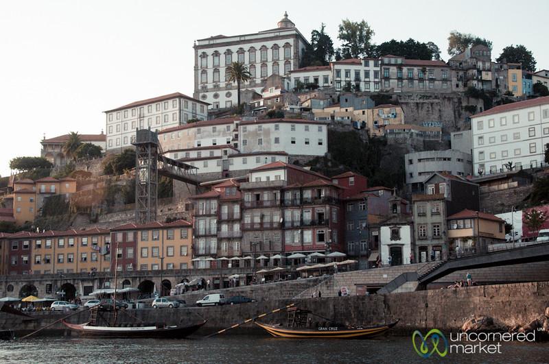 Porto Seen from Duoro River - Portugal