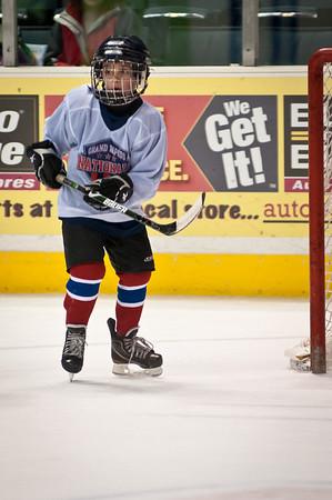 Brady Skates at the Van