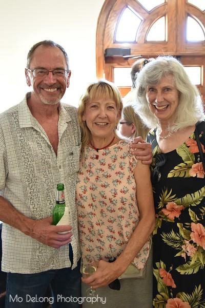 Mike Holland, Jae Tillinghast and Ellen Jane Schulz