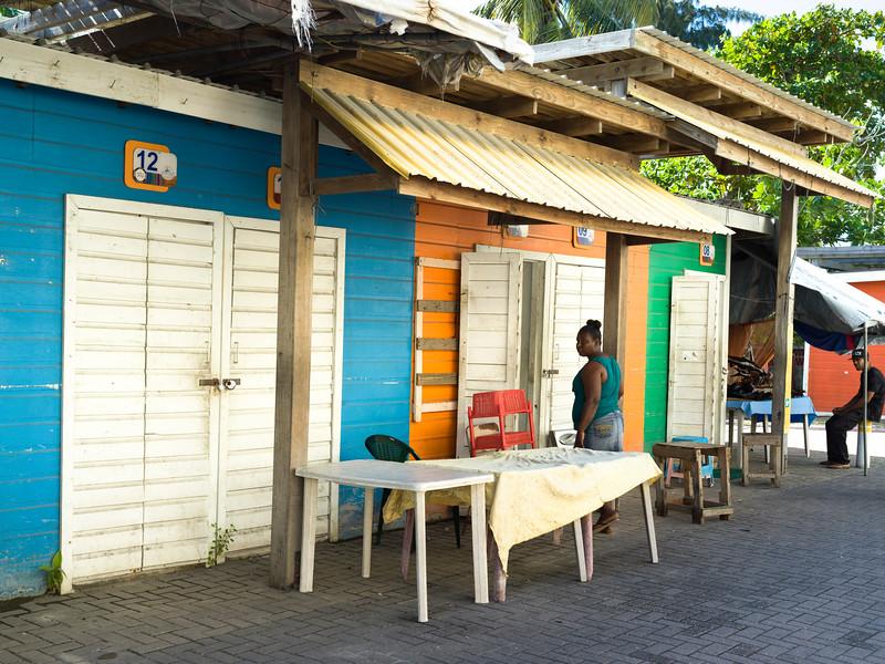 Sidewalk caf�, Ambergris Caye, San Pedro, Northern Belize, Belize