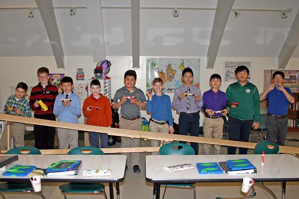 Sixth-Grade Pinewood Derby