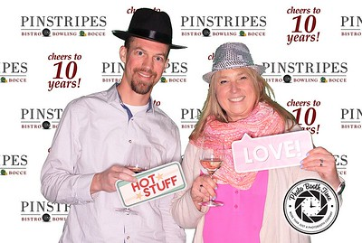Pinstripes 10 year Anniversary