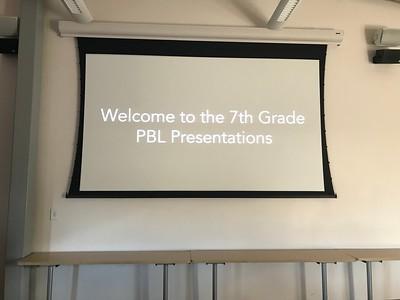 7th Grade PBL - Sustainable Schools Presentation