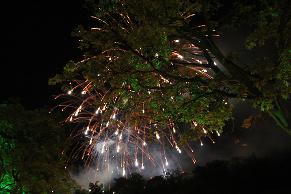 Matlock Firework Display - 17 September 2011