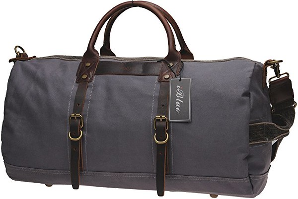 Iblue travel canvas bag