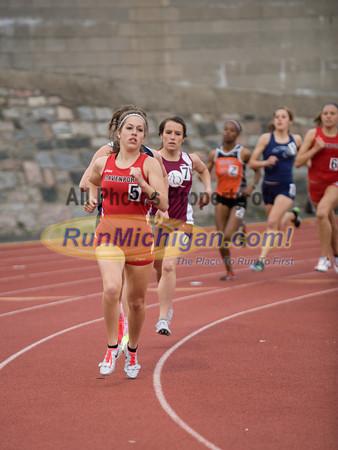 WHAC Conf Meet - 800M Run Women