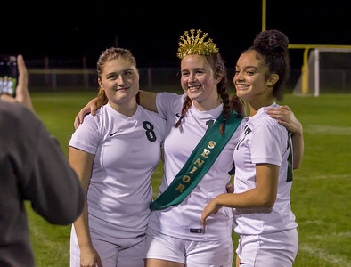 Set two: Vashon Island High School Girls Soccer Seniors Night 2017