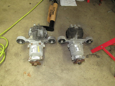 Rear Differential Replacement
