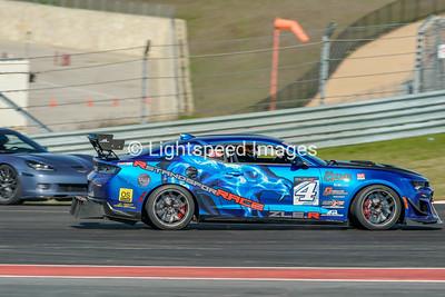 #4 Blue Camaro ZLER
