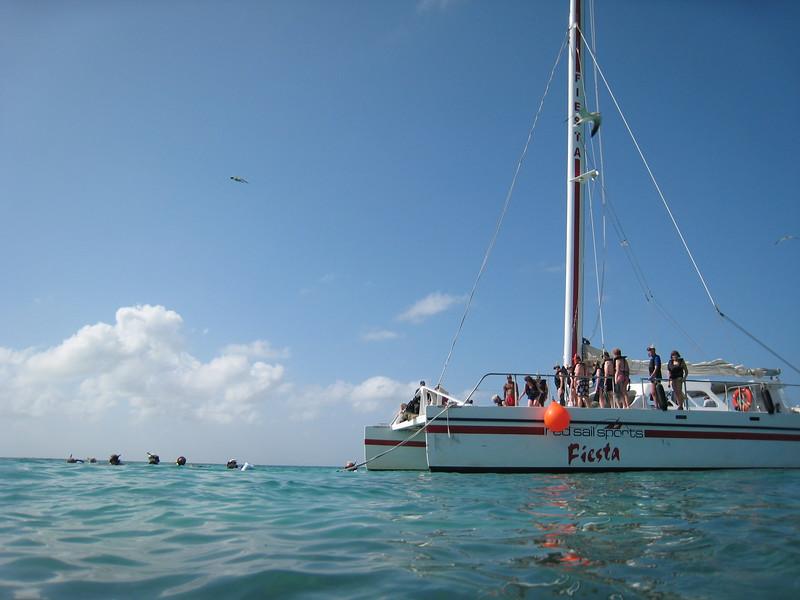Snorkeling excursion in Aruba