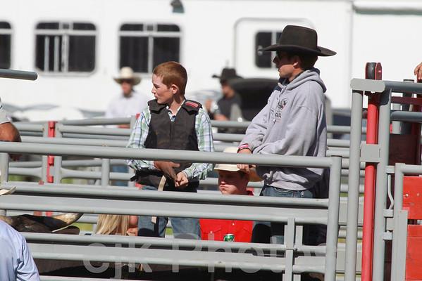 Junior Bull Riding/Bickleton 2011