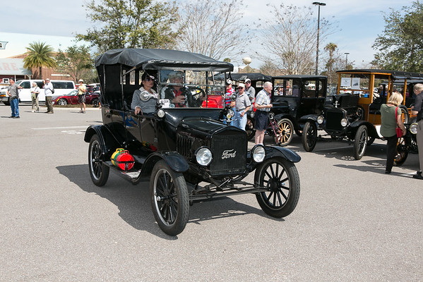 Model T Tour at Brownwood - 2016