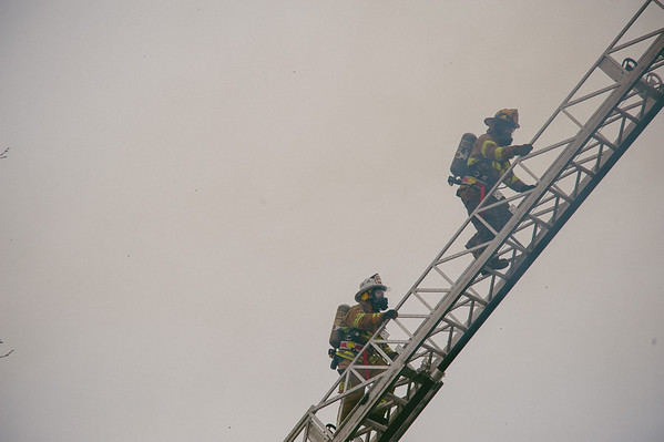 Southern Porter County Live Burn Training 2012-03-31