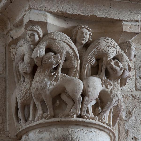 Saint-Benoit-sur-Loire Abbey Nave Capital