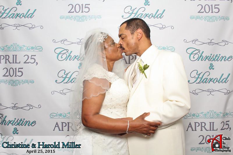 Christine & Harold Miller 4-25-2015