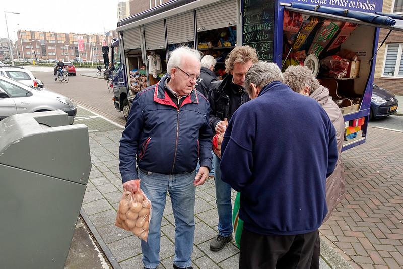 Amsterdam Noord, de Banne, 13 februari 2016, foto: Katrien Mulder