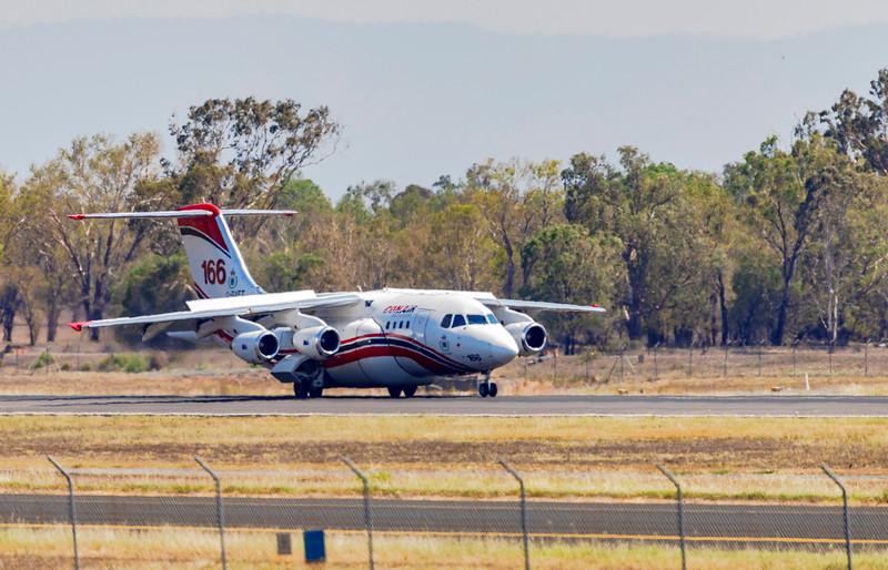 Conair Aviation British Aerospace Avro RJ85 C-GVFT at Rockhampton Airport