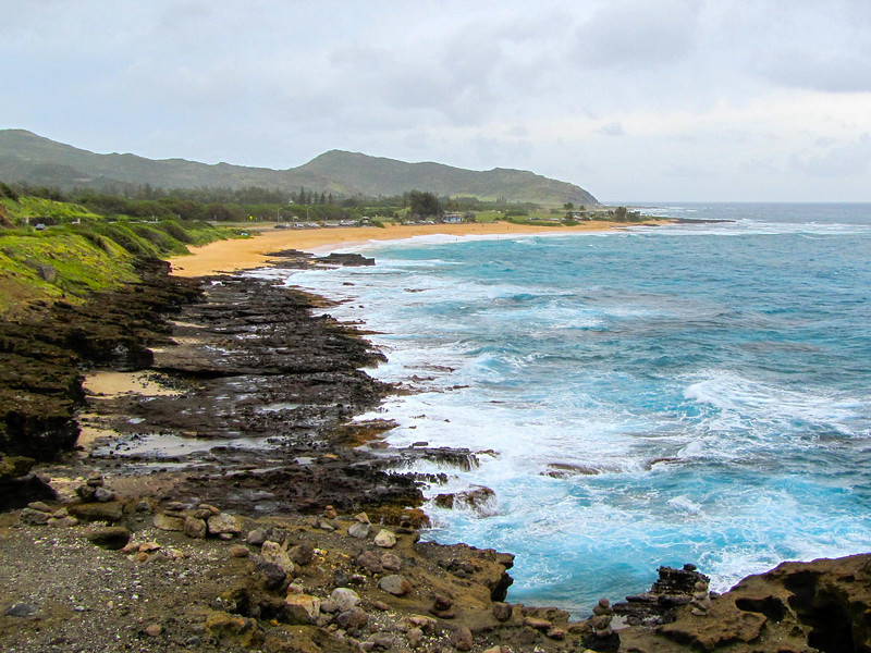 Beach on Oahu, Hawaii