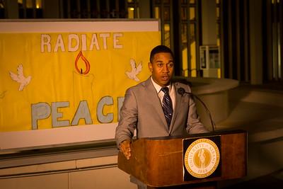 2015 'Radiate Peace' Vigil