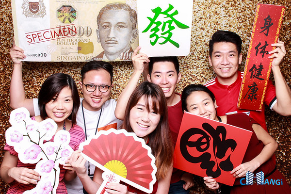 Changi Citi Bank Lunar New Year Celebration