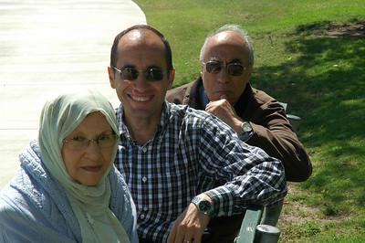 Baba and Maman in CA, Jun. 2008