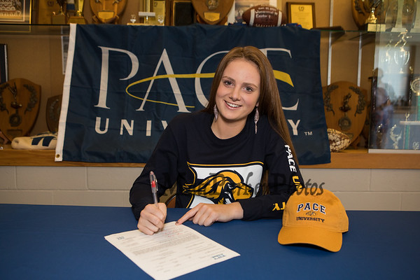2019-5-22 WHS Elizabeth Kennedy Signing Day Swimming @ Pace University