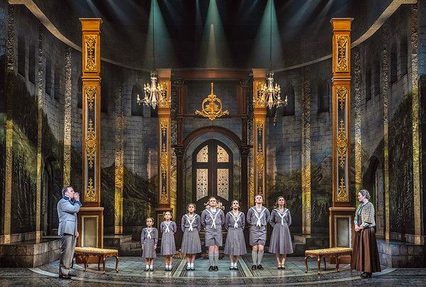 THE SOUND OF MUSIC Production Photos