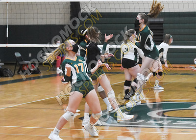 Canton  - King Philip Volleyball 04-14-21