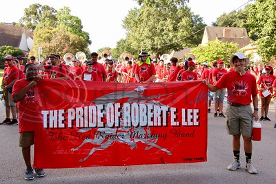8/24/19 Robert E. Lee High School Band March-A-Thon by Jim Bauer