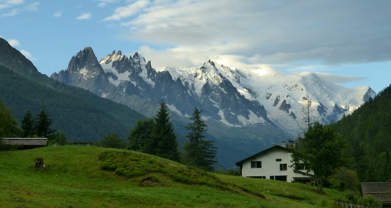 Tour du Mont Blanc - La Fouly to Les Houches (Aug 5-10, 2014)