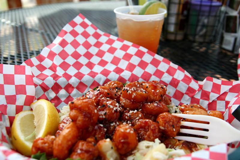 Spicy Thai Shrimp at the Tiki Bar was wonderful!