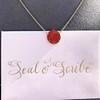 'Sa Douceur M'Attire' Carnelian Pendant, by Seal & Scribe 19